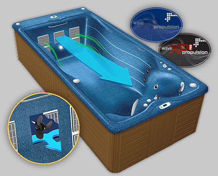 Michael Phelps Swim Spas Reviews Master Spas Wave